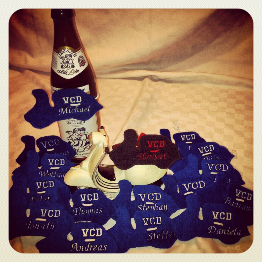 VCD-Flaschenroller