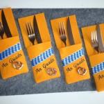 """Besteck-Tasche """"An Guadn"""" Preis: 7,50€ (p.Stück)"""