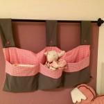 "Bettutensilo ""Rosa grau"" Preis: 39€"
