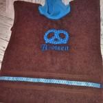 Lätzchen braun/blau Preis: 14,90€