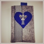 Engel auf blau Preis: 16€