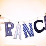 "Namenskette ""Franci"" Preis: 8,00€pro Buchstabe"