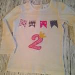 Geburtstagsshirt Preis: 24€