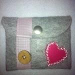 Großer Geldbeutel grau pink Preis: 14,90€
