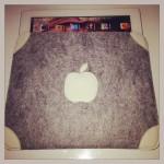 "Ipad-Tasche ""Apfel""  Preis: 24€"
