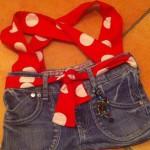 Jeanstasche rot Preis: 35€