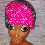 Reflektionsmütze grau/pink Preis: 25€