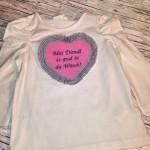 Shirt rosa/grau Preis: 22€