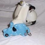 Roller hellblau 3D