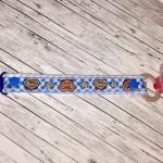 Schnullerkette blau Schatzi
