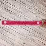 Schnullerkette rosa pink