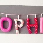 "Namenskette ""Spohia"" Preis: 8,00€pro Buchstabe"