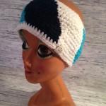 Stirnband Türkis/blau/weiß Preis: 20€