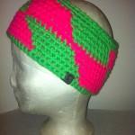 Stirnband pink/grün Peis: 20€