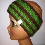 Stirnband braun/grün Preis: 20€