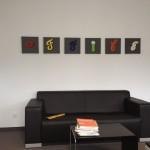 Wandbild Preis: 19€ / Buchstabe