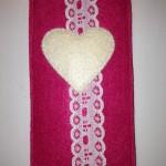 pink mit beigem Herz Preis: 14€