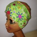 Stirnband grün Blumen Preis: 9,90€