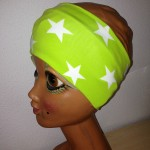 Stirnband grün Sterne Preis: 9,90€