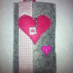 grau mit rosa Herz Preis: 16€
