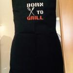 """""""Born to Grill"""" Preis: 18€"""
